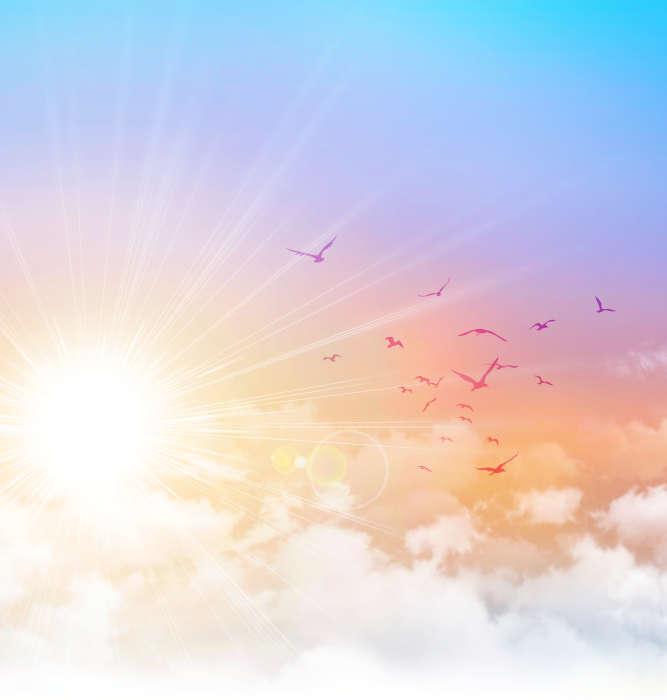 Engellehre - Sonnenaufgang